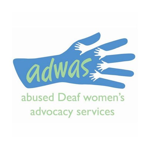 ADWAS (Abused Deaf Women's Advocacy Services) Logo