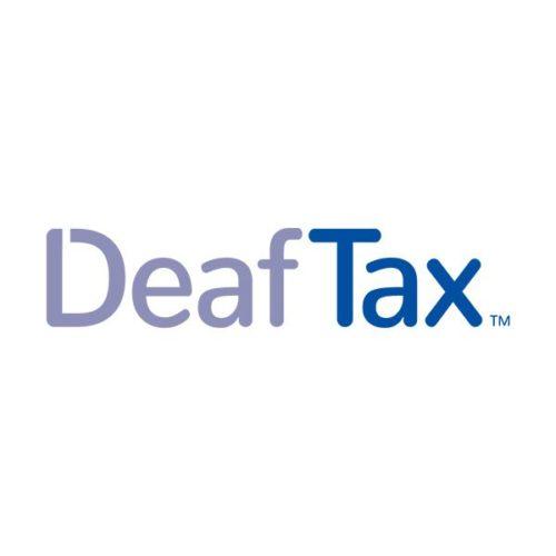 Deaf Tax Logo