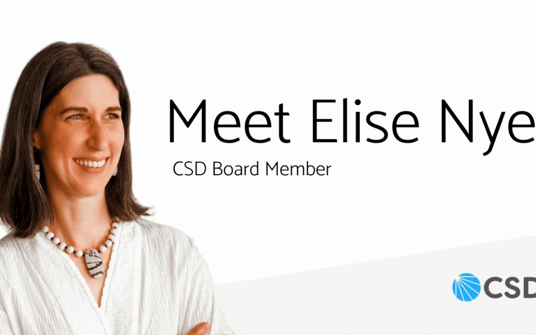 Meet Board Member Elise Nye