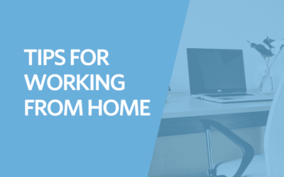 Tips For Working From Home (WFH)