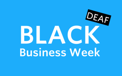 August is Black Deaf Business Month