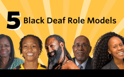 5 Black Deaf Role Models to Celebrate this Month