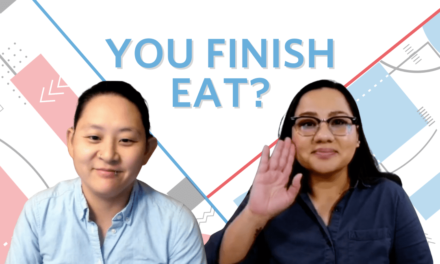A Video Interview with the Core Team Members of You Finish Eat? Platform