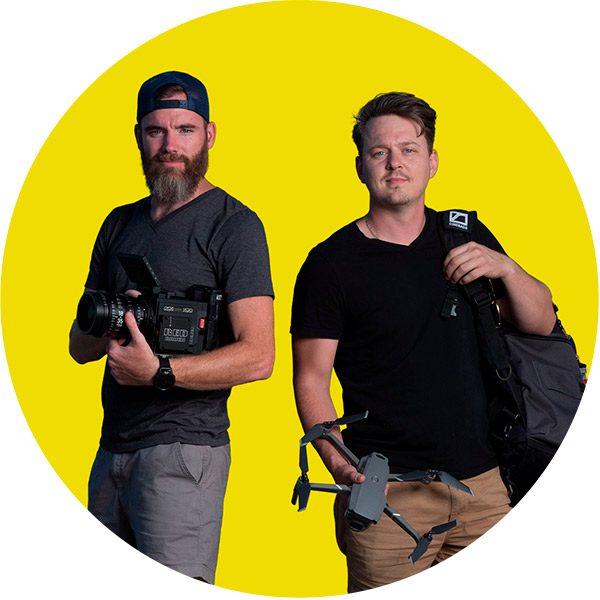 Photo of Bus Door Film founders