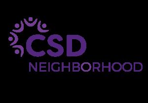 Purple CSD Neighborhood Logo
