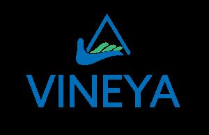 Blue and green Vineya logo