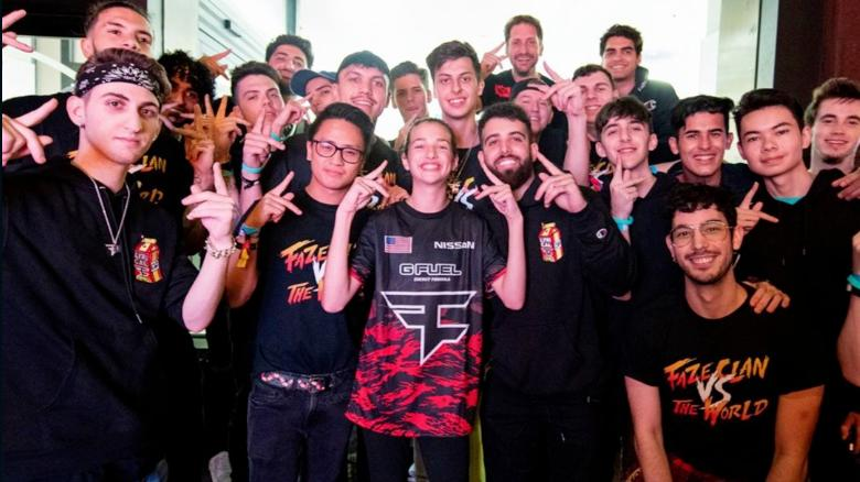 Photo of e-sports FaZe Clan team