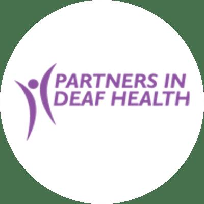 Partners in Deaf Health Logo