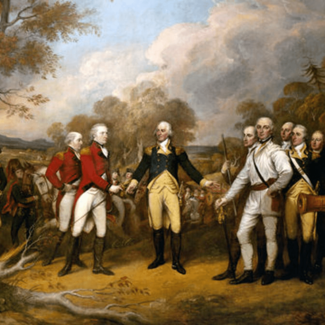 Painting of the American Revolution