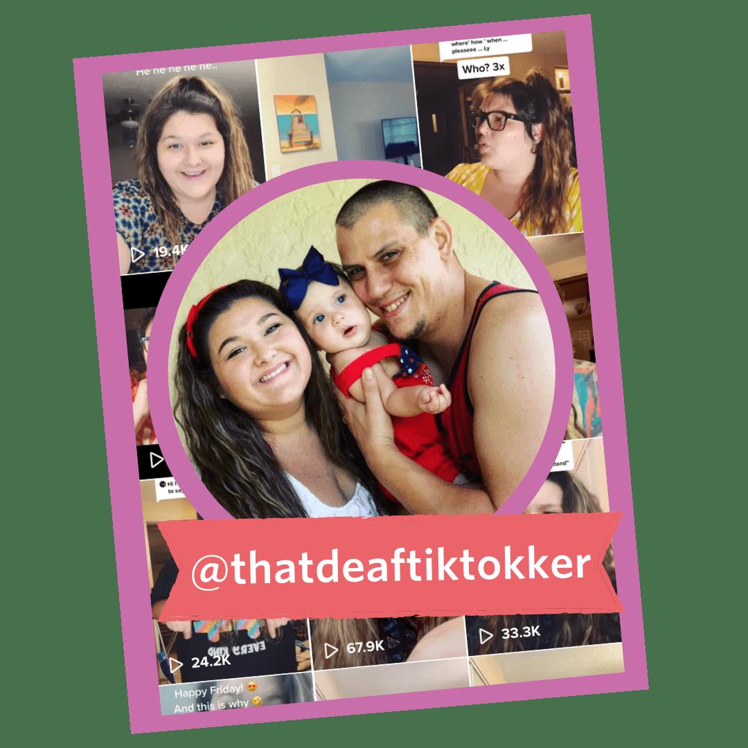 That Deaf TikTokker