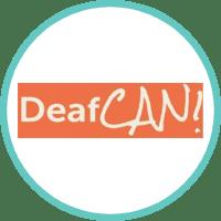 DeafCAN! Logo